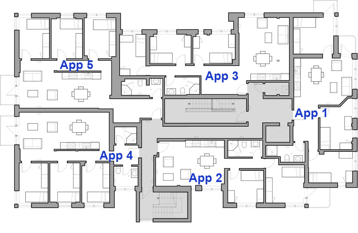 Residence Layout